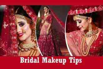 Makeup Mistakes can spoil your bridal look