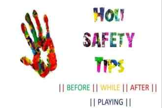 Holi Safety and Preparation Tips