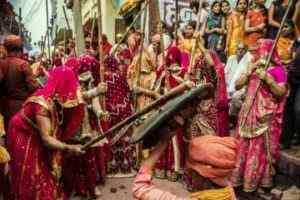 Mathura Lathmar Holi Katha and History