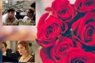 Valentine week Happy Rose Day Memes on social media
