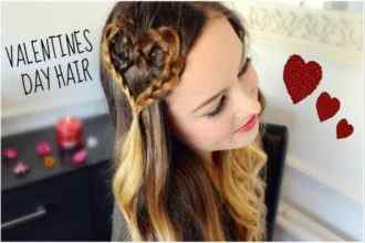 Valentine's Day Special Hairstyle Tips