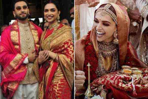 deepika padukone best saree look for new bride
