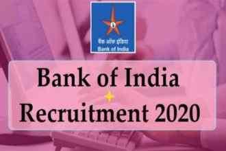 Sarkari Naukri BOI Jobs 2020