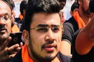 BJP leader Tejashwi Surya