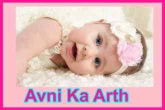 अवनी नाम का अर्थ Avni naam ka arth