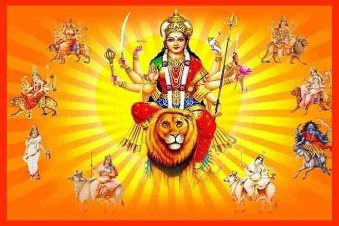 nav durga beej mantra shailaputri beej mantra brahmacharini beej mantra chandraghanta beej mantra kushmanda beej mantra skandamata katyayani kaalratri mahagauri siddhidhatri beej mantra